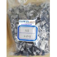 Quality Small Pieces Niobium Metal Purity 99.95%min For Superalloy Size 3-10mm for sale