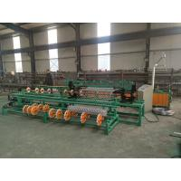 Quality 3m width single wire feeding PLC control full Automatic Chain Link Fence Machine for sale