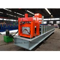 Buy cheap Aluminum Glazed House Ridge Cap Forming Machine For Roof Building from wholesalers