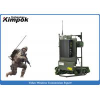 Quality Military Backpack Digital Video Transmitter 5~8W Microwave Transmission Equipment for sale