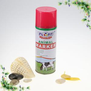 Quality Eco Friendly Acrylic Washable Sheep Marker Spray Tail Paint No Harm To Animal Skin for sale