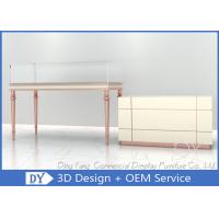 Quality New MDF Jewellers Display Showcases / Jewellery Shop Furniture for sale