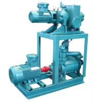 China Mechanical Booster Water Vacuum Pump , 1.1kw Vacuum Ring Pump Positive Displacement on sale