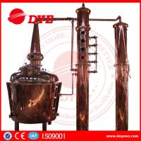 Quality 1000L Electric Alcohol Distiller Grain Whisky Temperature Control In Stock for sale