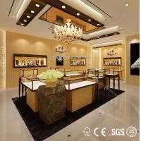 Quality Jewelry showcase led lights kiosk showcase for sale for sale