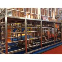 Buy 200L Automatic Copper Commercial Beer Brewing Equipment 200Kg - 2000Kg at wholesale prices