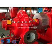 Quality NFPA20 Horizontal Split Case Fire Pump For Schools / Supermarkets 1500gpm@300 Feet for sale