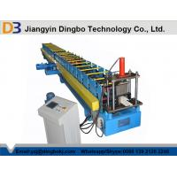 Buy cheap 16 Forming Station Metal Rainwater Gutter Rolling Machine With Hydraulic Cutting 5.5KW from wholesalers