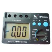 Buy cheap Ground Digital Earth Resistance Tester LCD megger earth tester from wholesalers