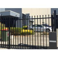 Wrought Iron Garden Fence Panels , Ornamental Iron Fence