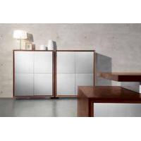 Quality Simple Wooden Sideboard / Walnut Sideboard Natural Wood Color Cabinet Plywood Veneer for sale