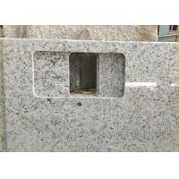 Quality Giallo Sf Real Solid Granite Worktops For Kitchen / Bathroom White Color for sale
