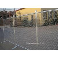 Quality Outdoor Temporary Construction Fence Chain Link Fencing For Construction Protection for sale