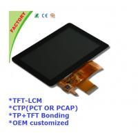 """Buy cheap 5"""" Touch screen panel and LCM and optical bonding for Industrial control device from wholesalers"""