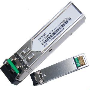 Quality 1.25G SFP Transceiver ZX 1550nm 160KM for sale