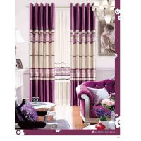 Quality Colorful Long Wide Jacquard Living Room Curtain Bracket Sound Insulation and Durable for sale