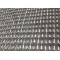 Quality Bright 1060 Embossed Aluminium Alloy Sheet / Aluminum Checkered Plate 3003 H14 for sale