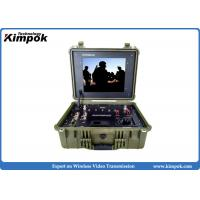 Buy Video and Data COFDM Receiver Portable 17'' Wireless Digital Video Receiver at wholesale prices