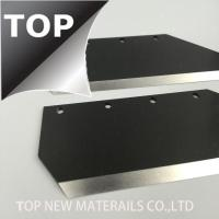 Quality Corrosion Resistance Stellite 6K Blade For Viscose Fibre Cutting Grinding Surface for sale