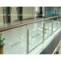 Buy Tempered / toughened glass for porch railing, porch fence, porch balusrtade, at wholesale prices
