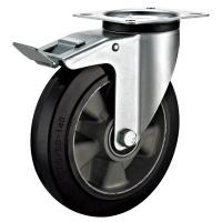 Quality Heavy Duty Institutional Industrial Caster Wheels With Total Lock Industrial 200mm for sale