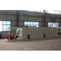 Quality Oil and gas well mud system mud tank for sale at Aipu solids control for sale