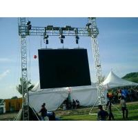 Buy Customer Design  4 Pillars True Project Stage Lighting Truss 6x6 x 6 M Fixed Height Roofing with High Loading at wholesale prices