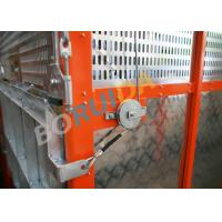 Quality Q235 / Q345 Steel Car Cage Hoists For Building, 380V 50Hz Or 60Hz Power for sale