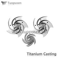 Quality Titanium Castings GR2 GR5 From Tuopusen for sale