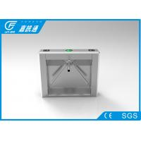 Quality Security Mechanical Vertical Tripod Turnstile High Speed With Fingerprint Reader for sale