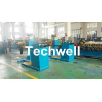 Quality Rotary Double Head Mandrel Manual Uncoiler / Decoiler With Weight Capacity Of 3 / 5 Ton for sale