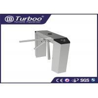 Quality Automatic Tri - Channel Playground Security Turnstile Gate With Card Reader for sale