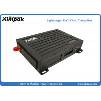 Quality 60km UAV Video Link Data Link 3W RF Output Lightweight COFDM Wireless Transmitter for sale