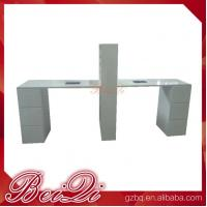 Quality BQ!! antique beauty nail salon equipment manicure nail table , used pedicure manicure desk wholesale price for sale