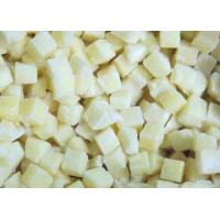 Quality Frozen Cubed Potatoes Organic Frozen Fruit With Packing Blue PE Bags for sale