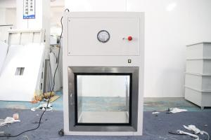 Quality Powder Coating Steel Laminar Flow Dynamic Cleanroom Pass Box for sale