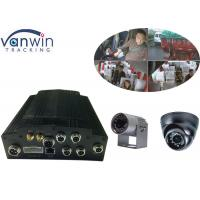 Quality HDD 4CH WIFI 720P Car DVR G-Sensor For Taxi 4ch MDVR with APP for sale