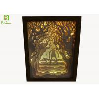 China POS Retail Display Props , Cut Out Light Box  Backlit Inside With Changing Color on sale