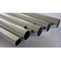 Quality Good Weld Ability Aluminum Round Tubing Apply To Tanker / Curtain Wall for sale