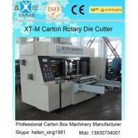Quality Corrugated Colorful Carton Rotary Die-Cutting Machine For Die Cutting And Molding for sale