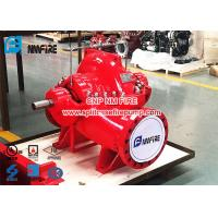 Quality 1500gpm @ 105-120PSI Diesel Engine Driven Fire Pump Set with UL / FM Certification For Pump And Diesel Engine for sale