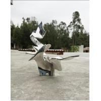 Quality Customized Metal Statue Modern Abstract Sculpture Outdoor For Decoration for sale