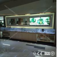 Quality portable jewelry display showcase for sale