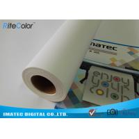 Quality Large Format 380gsm Inkjet Print Matte Cotton Canvas Roll for Eco Solvent Ink for sale
