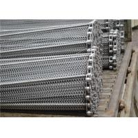 Quality Stainless Steel Mesh Conveyor Belt , Horseshoe Wire Mesh Heat Resistance for sale