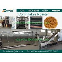 Quality Breakfast Cereals , Corn Flakes Processing Line / Making Machine / Corn Flakes Dryer for sale