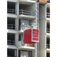 Quality Vertical Rack And Pinion Hoists Red 2700kg OEM for Building / Factory for sale
