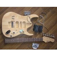 Quality 39 inch Ibanez Type DIY Electric Guitar Kits / Semi Finished Guitar Kit AG-IB1 for sale