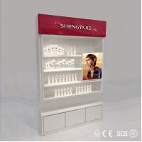 Quality 2015 Most Attractive cosmetic showcase for using many countries for sale