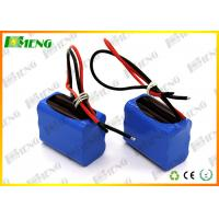 China 6S1P 22.2V 3000Mah 18650 Rechargeable Battery Pack With BMS on sale
